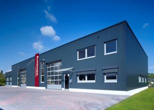 Foto: Industriehalle Lennestadt - Neubau