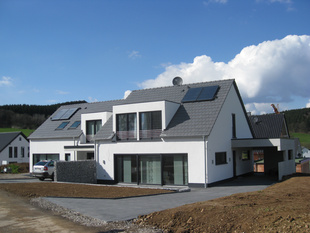 Foto: Doppelhaus Attendorn - Neubau