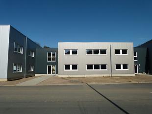 Foto: Industriehalle / Flüchtlingsunterkunft Lennestadt - Neubau